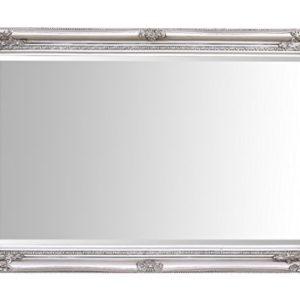 Specchio Select  Specchio a parete grande Rhone  Vintage francese  Stile barocco rococ  Legno massello  Finitura a mano  Argento antico  60 cm x 90 cm