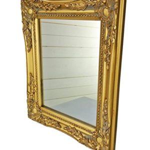 32x27x3cm specchio a parete rettangolare fatti a mano cornici antiche depoca in legno oro incl Assembly
