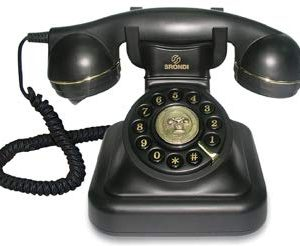 Brondi Vintage 20 Telefono Fisso Nero