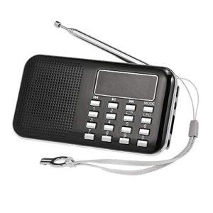 Docooler Mini FM Radio Altoparlante Digitale Portatile Y896 da 3 W Altoparlante MP3 Lettore Audio Ad Alta fedelt qualit Audio con Schermo da 2 Pollici Supporto USB Carta TF AUXin Uscita Cuffia