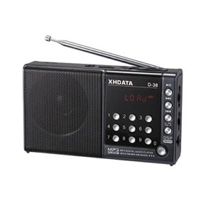 XHDATA D38 FMStereo  MW  SW  MP3Player  DSP Vollband Radio D38 gray