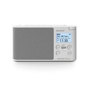 Sony XDRS41D radio digitale portatile con DABFM 875  108 MHz 174928  2392 MHz Auto tuning bianco