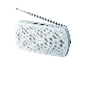 Sony SRF18 Radio Stereo Portatile FMAM Bianco
