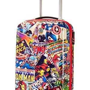 American Tourister Marvel Legends  Spinner 5520 Alfatwist 20 Valigia per bambini 55 cm 36 liters Multicolore Marvel Comics